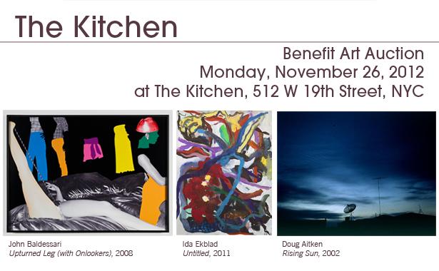 The Kitchen's Benefit Art Auction