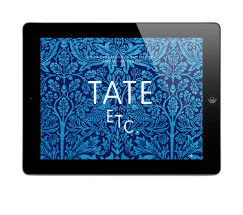 Read TATE ETC. magazine on your iPad