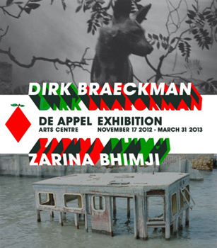 Dirk Braeckman and Zarina Bhimji at De Appel