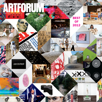 December 2012 in Artforum