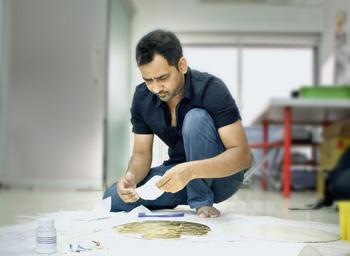"Imran Qureshi: ""Artist of the Year"" 2013 at Deutsche Bank KunstHalle"