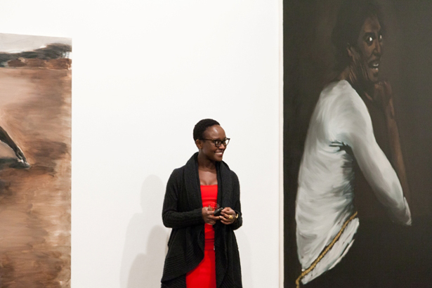 Lynette Yiadom-Boakye received the Main Prize of the Future Generation Art Prize 2012