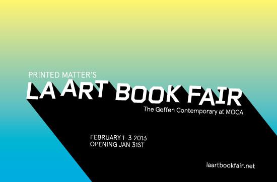 Printed Matter's LA ART BOOK FAIR