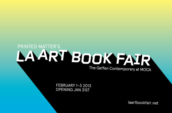 Printed Matter's LA ART BOOK FAIR