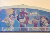 """Scared of Murals,"" 13th Antalya International Film and Art Festival, 1976. Archive: Cihat Aral."