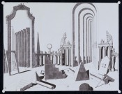 "Pablo Bronstein, ""Magnificent Plaza,"" 2007."