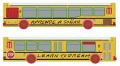 John Baldessari, &quot;Learn To Dream, Aprende A Soar (Bus, billboard, and outdoor media for the LA Fund),&quot; 2012.  John Baldessari.