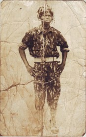Badiu Olorunfunmi, early 1960s. Photograph byT.O.Atowo. Courtesy Jelili Atiku.