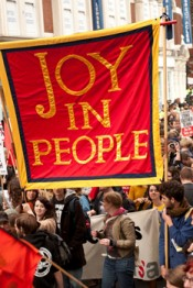 "Jeremy Deller, ""Joy in People,"" 2011. Courtesy the artist. Photo: Linda Nylind. © Jeremy Deller."