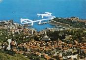 """Yona Friedman, """"La Venise monégasque,"""" 1960/2006. Ballpoint pen and Wite-Out on postcards. Collection NMNM. © ADAGP, Paris, 2012."""