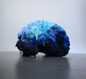 """Yin Xiuzhen, """"Thought,"""" 2009. Clothes and steel, 340 x 510 x 370 cm. Courtesy of The Pace Gallery, Beijing."""