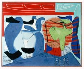 "Le Corbusier, ""I was dreaming (first version),"" 1953.© Le Corbusier/BUS 2013."