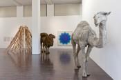 Nancy Graves, exhibition view Ludwig Forum, 2011. Photo: Carl Brunn.