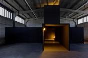 "Bruce Nauman, ""Room with My Soul Left Out, Room That Does Not Care,"" 1984. Installation view Rieckhallen, Hamburger Bahnhof. Photo: Thomas Bruns. © VG Bild-Kunst Bonn 2012."