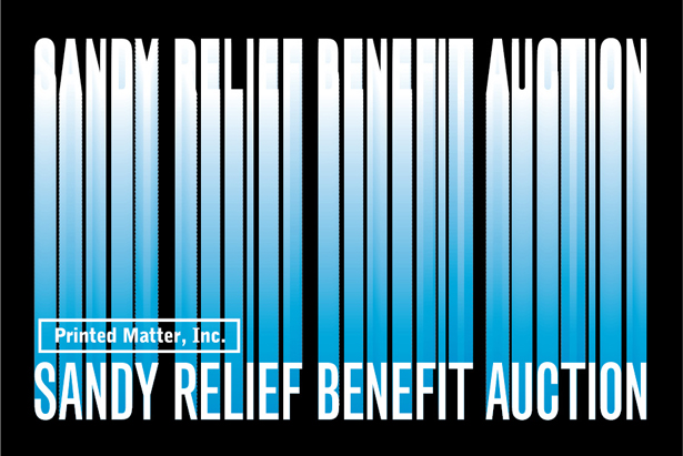 Sandy Relief Benefit Auction hosted by Printed Matter