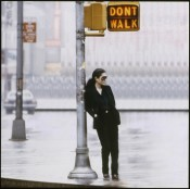 "Yoko Ono, ""Walking On Thin Ice,"" 1981. Video still. © Yoko Ono."