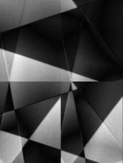 """Florian & Michael Quistrebert, """"Untitled (Triangles),"""" 2010. Video without sound.Collection of the Centre national des arts plastiques.©Florian & Michael Quistrebert/CNAP."""