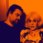 Thee Majesty: Bryin Dall and Genesis Breyer P-Orridge.