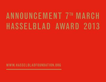 Hasselblad Foundation International Award in Photography: 2013 award winner