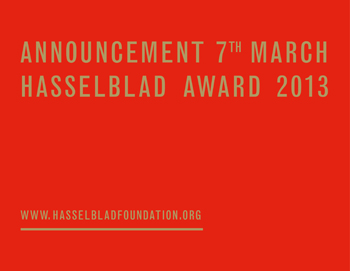 Hasselblad Foundation International Award in Photography: 2013 award winner