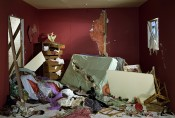 "Jeff Wall, ""The Destroyed Room,"" 1978. Transparency in light box, AP, 159.0 x 234.0 cm. Collection of the artist."