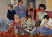 Sylvia Sleigh, &quot;Northwestern University Group,&quot; 19771980. Courtesy of the Estate of Sylvia Sleigh &amp; Freymond-Guth Fine Arts, Zurich.