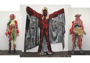 "Spartacus Chetwynd, ""A Tax Haven Run By Women,"" 2010. Frieze Projects, Frieze Art Fair, 14–17 October 2010. Courtesy Sadie Coles HQ, London. © Spartacus Chetwynd. Photo: Dennis van Doorn."