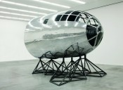 Matthew Day Jackson, &quot;Axis Mundi,&quot; 2011. Repurposed cockpit of a B-29 aircraft. Private collection. Image courtesy the artist and Hauser &amp; Wirth. Photo: Peter Mallet.