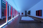 Photo: Josh White. Donald Judd Art © Judd Foundation. Licensed by VAGA, New York. Artwork © John Chamberlain. © Lucas Samaras. Dan Flavin © Stephen Flavin/Artists Rights Society (ARS), New York. Donald Judd FurnitureTM © Judd Foundation.