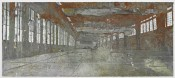 "Anselm Kiefer, ""Tempelhof,"" 2011. Oil, acrylic, terra cotta, lead and salt on canvas, 330 x 760 cm. © the artist. Courtesy White Cube. Photo: Ben Westoby."