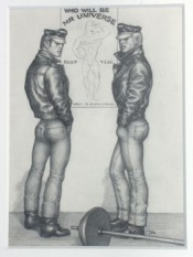 "Tom of Finland, ""Untitled,"" 1963. Graphite on paper. © 1963 Tom of Finland Foundation."