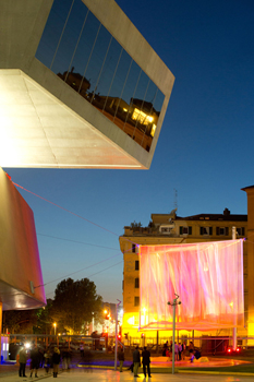 Young Architects Program 2013 at MAXXI, Rome