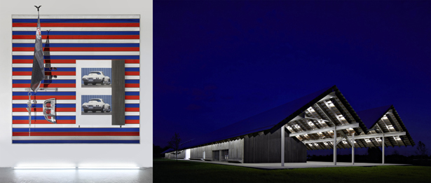 Parrish Platform: installations by Josephine Meckseper
