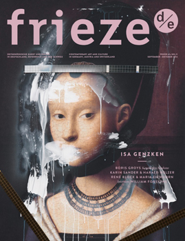 frieze d/e issue 11 out now