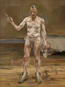 Lucian Freud at Kunsthistorisches Museum