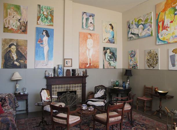 Home workspace program presents salon de fleurus e flux for Salon workspace