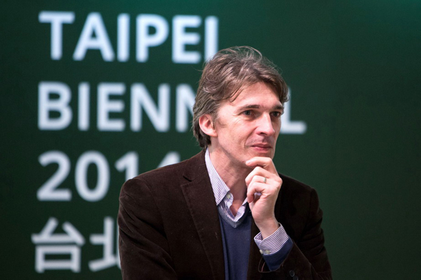 Nicolas Bourriaud selected as the curator of Taipei Biennial 2014