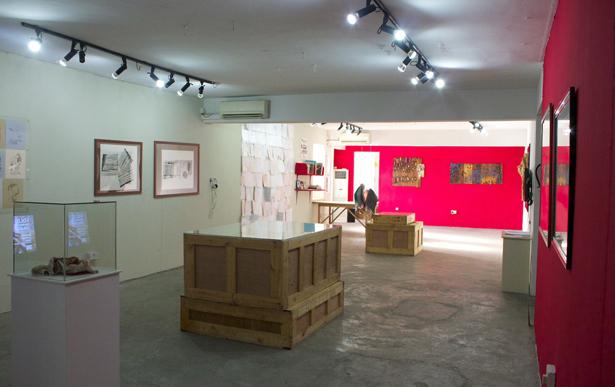 El Anatsui at Centre for Contemporary Art, Lagos