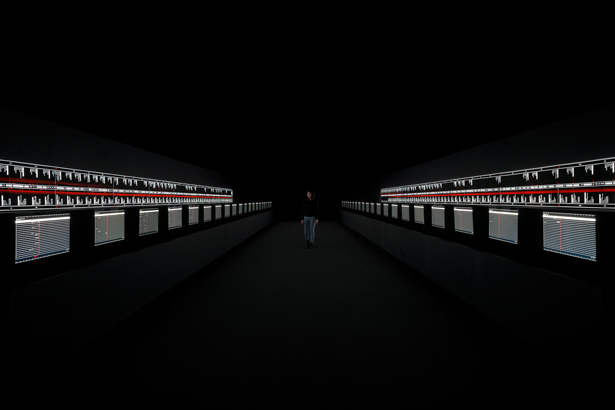Yamaguchi Center for Arts and Media hosts Ryoji Ikeda's new installation, supersymmetry