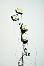 Konrad Smoleński, Volume Unit, 2014. Music desktop, modulation meters.