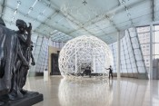 Minsuk Cho, Ring Dome. Installation view at PLATEAU, Samsung Museum of Art. © Kyungsub Shin.