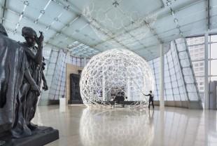 Minsuk Cho,Ring Dome. Installation view at PLATEAU, Samsung Museum of Art. © Kyungsub Shin.