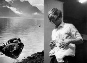 Left: Arnold Odermatt, Buochs, 1965. © Urs Odermatt, Windisch, Switzerland. Courtesy Galerie Springer Berlin. © Bildrecht, Vienna 2014. Right: Günter Brus, from Der helle Wahnsinn, 1968. BRUSEUM/Neue Galerie Graz, UMJ. Photo: Henning Wolters.