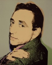 Andy Warhol, Lucio Amelio, 1975. Acrylic and silkscreen on canvas. Courtesy Private Collection, Naples.