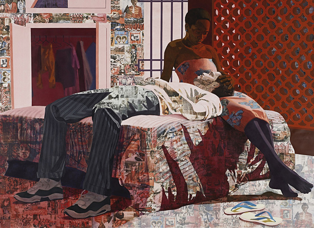 Njideka Akunyili Crosby wins the 2014 James Dicke Contemporary Artist Prize