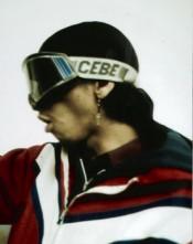 Rammellzee, mid-1980s. © Vincent Vlasblom, NL.