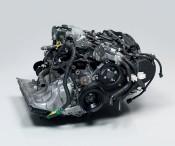 Roger Hiorns, Untitled, 2008. Toyota engine, brain matter, 76 x 61 x 50 cm. Courtesy Corvi-Mora, London.