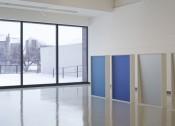 Installation view,Liz Deschenes: Gallery 7, Walker Art Center, 2014. Photo: Gene Pittman. Courtesy the artist; Miguel Abreu Gallery, New York; and Campoli Presti, London/Paris.