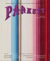 Vol. 95, cover by Rosemarie Trockel.