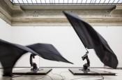 William Forsythe, Black Flags, 2014. © The Forsythe Company. Galerie Neue Meister, Staatliche Kunstsammlungen Dresden. Photo: David Brandt.